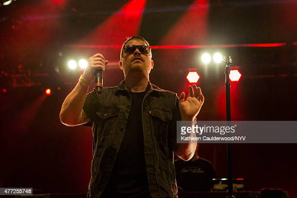 ElP of Run the Jewels perform during Brooklyn's Northside Festival at 50 Kent Avenue on June 14 2015 in the Brooklyn borough of New York City