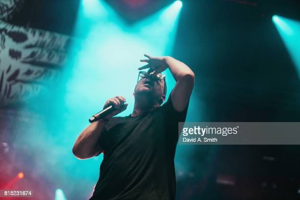 ElP of Run The Jewels performs during the 2017 Sloss Music and Arts Festival at Sloss Furnaces on July 15 2017 in Birmingham Alabama