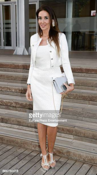 Elsa Anka attends Gala Dinner of Lagrimas and Favores Foundation during Holy Week celebration on April 7 2017 in Malaga Spain