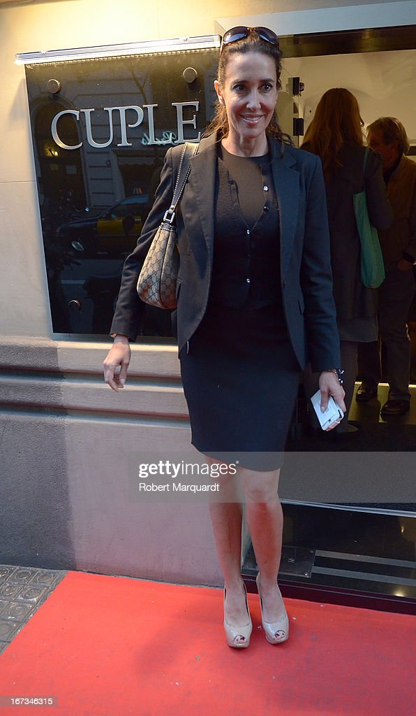 Elsa Anka attends the Cuple store opening on April 24, 2013 in Barcelona, Spain.