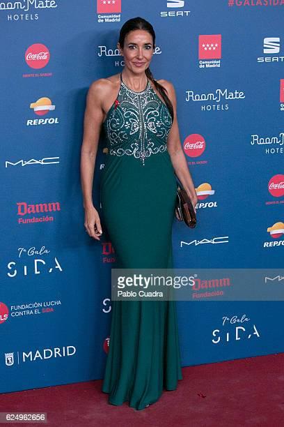 Elsa Anka attends the 'Gala Sida' 2016 at Cibeles Palace on November 21 2016 in Madrid Spain