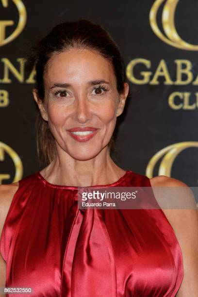 Elsa Anka attends the 'Yvonne Reyes birthday party' photocall at Gabana disco on October 17 2017 in Madrid Spain
