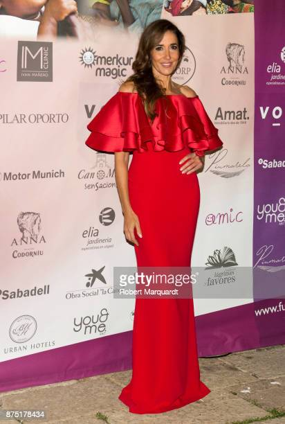 Elsa Anka poses during a photocall for the 'Apuesta Por Ellas' charity event on November 16 2017 in Sant Cugat del Valles Spain