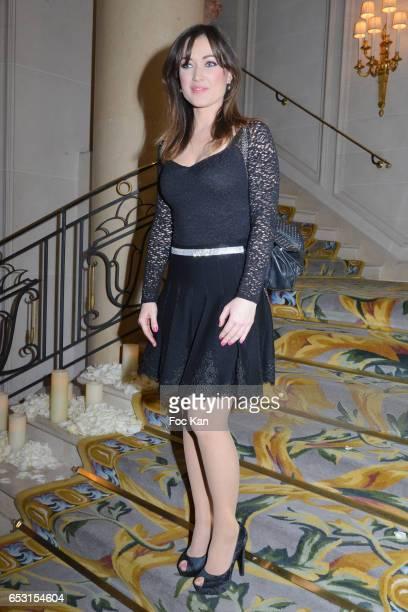 Elsa Esnoult attends 'La Recherche en Physiologie' Charity Gala at Four Seasons Hotel George V on March 13 2017 in Paris France
