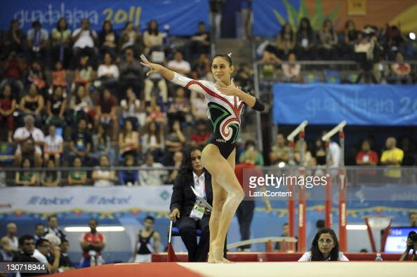Gymnastics finals during day 14 of the xvi pan american games at the