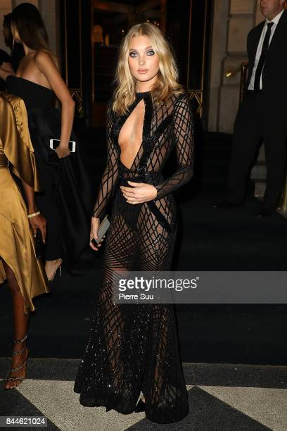 Elsa Hosk arrives at Harper's BAZAAR Celebration of 'ICONS By Carine Roitfeld' at The Plaza Hotel presented by Infor Laura Mercier Stella Artois...