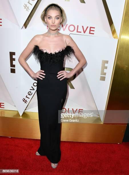 Elsa Hosk arrives at the #REVOLVEawards at DREAM Hollywood on November 2 2017 in Hollywood California