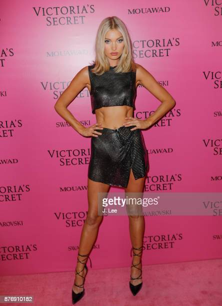 Elsa Hosk at the 2017 Victoria's Secret Fashion show afterparty on November 20 2017 in Shanghai China