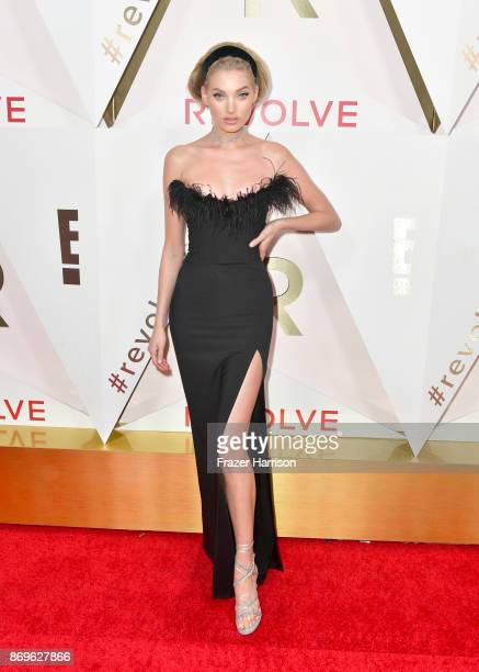 Elsa Hosk attends the #REVOLVEawards at DREAM Hollywood on November 2 2017 in Hollywood California