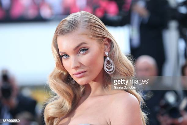 Elsa Hosk during 'The Beguiled' premiere during the 70th annual Cannes Film Festival at Palais des Festivals on May 24 2017 in Cannes France