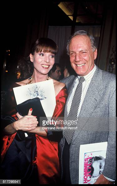 Elsa Martinelli and Louis Azzaro People Ready to wear fashion show fall winter 19911992 collection in Paris