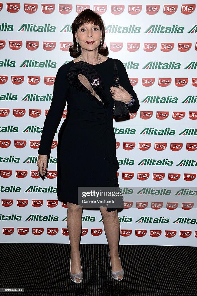 Elsa Martinelli attends the Jet Set Party Alitalia at Residenza di Ripetta on November 10, 2012 in Rome, Italy.
