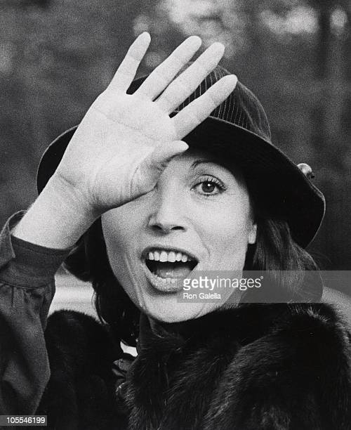 Elsa Martinelli during Elsa Martinelli Sighting at BeeGee Luncheon November 10 1976 at Gracie Mansion in New York City New York United States