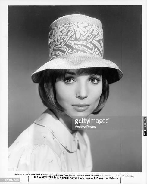 Elsa Martinelli in publicity portrait Circa 1961