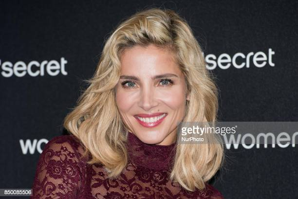Elsa Pataki attends the new Women's Secret campaign photocall in Madrid on September 20 2017