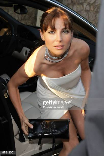 Elsa Pataky arrives at the Akvinta Presents A Night of Hollywood Domino Party at The House at Cannes during the 62nd International Cannes Film...