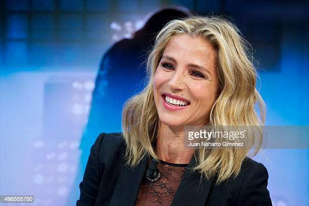 Elsa Pataky attends 'El Hormiguero' Tv show at Vertice Studio on November 10 2015 in Madrid Spain