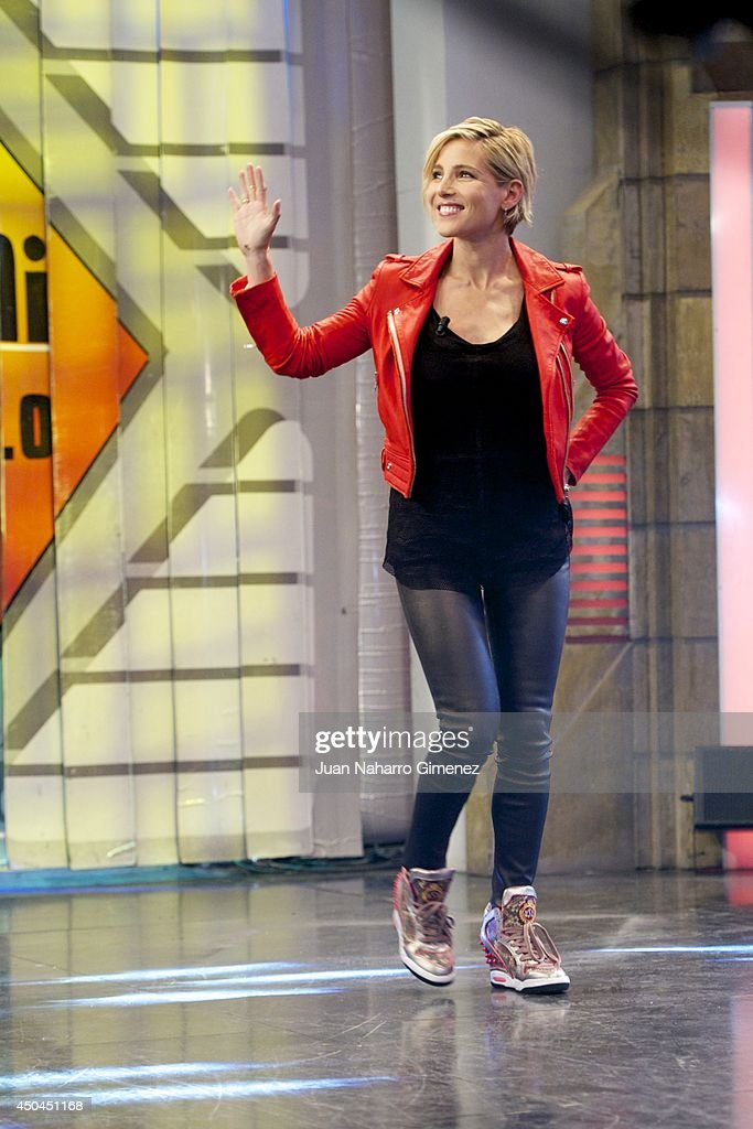 <a gi-track='captionPersonalityLinkClicked' href=/galleries/search?phrase=Elsa+Pataky&family=editorial&specificpeople=242789 ng-click='$event.stopPropagation()'>Elsa Pataky</a> attends 'El Hormiguero' Tv show at Vertice Studio on June 11, 2014 in Madrid, Spain.