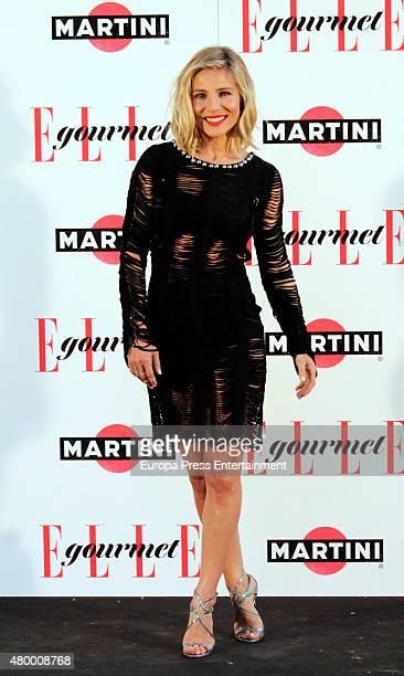 Elsa Pataky attends Elle Gourmet Awards 2015 on July 6 2015 in Madrid Spain