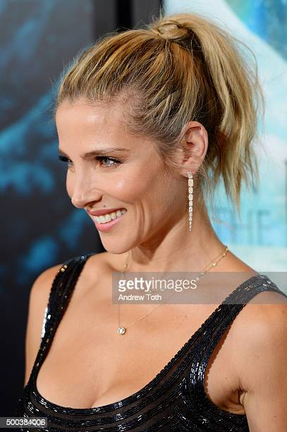 Elsa Pataky attends 'In The Heart Of The Sea' New York premiere at Frederick P Rose Hall Jazz at Lincoln Center on December 7 2015 in New York City