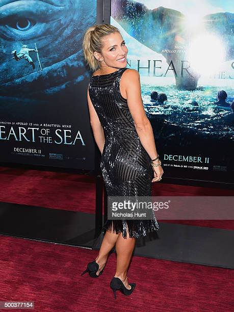 Elsa Pataky attends 'In The Heart Of The Sea' Premiere at Frederick P Rose Hall Jazz at Lincoln Center on December 7 2015 in New York City