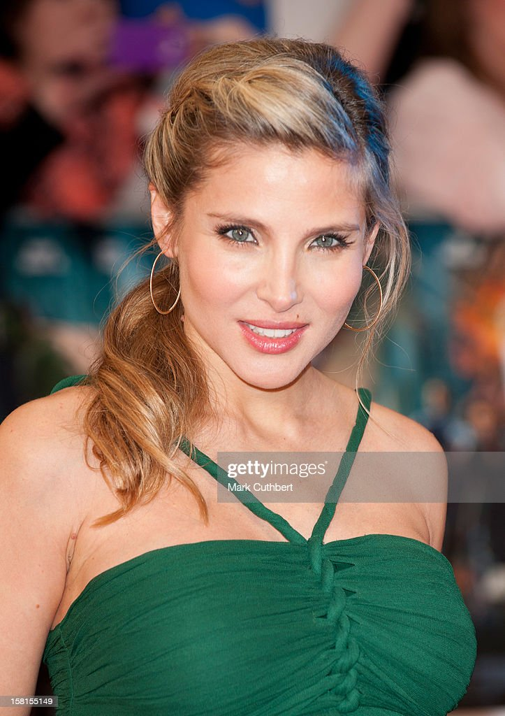 Elsa Pataky Attends Marvel Avengers Assemble European Premiere At Vue Westfield On April 19, 2012 In London.