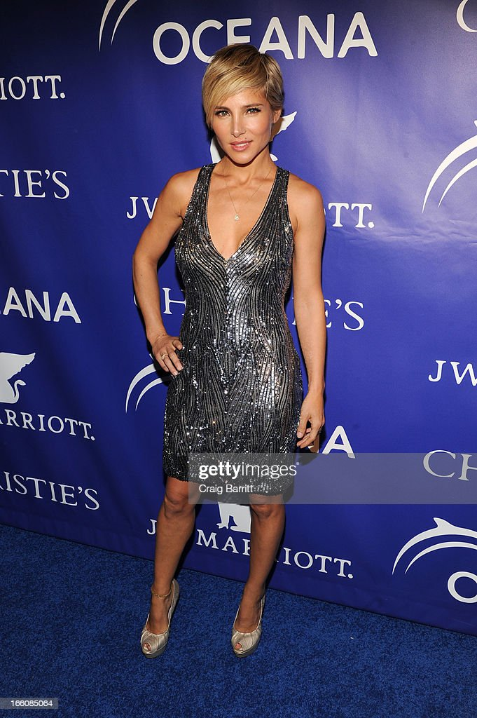 Elsa Pataky attends The Inaugural Oceana Ball at Christie's on April 8, 2013 in New York City.