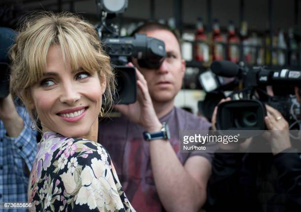 Elsa Pataky attends the presentation of the new collection of Gioseppo Woman in Madrid on April 25 2017 Madrid Spain