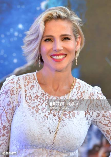 Elsa Pataky attends the UK Premiere of 'Guardians of the Galaxy' at Empire Leicester Square on July 24 2014 in London England