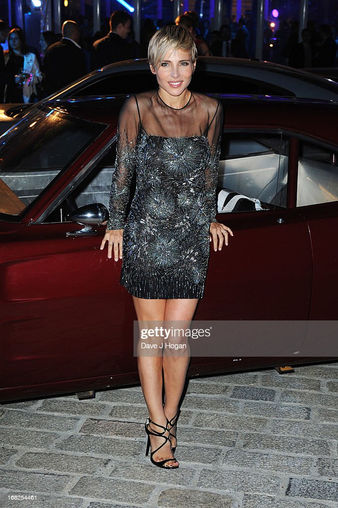 Elsa Pataky attends the world premiere after party of 'Fast And Furious 6' at Somerset House on May 7 2013 in London England