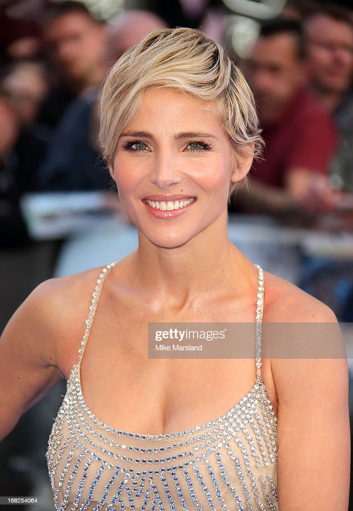 Elsa Pataky attends the World Premiere of 'Fast & Furious 6' at Empire Leicester Square on May 7, 2013 in London, England.