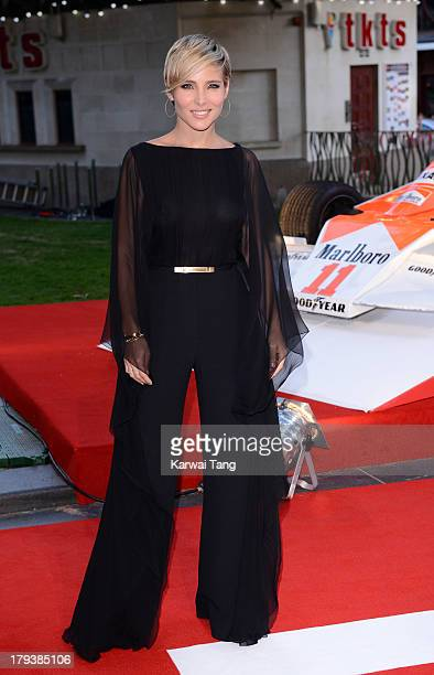 Elsa Pataky attends the World Premiere of 'Rush' at the Odeon Leicester Square on September 2 2013 in London England