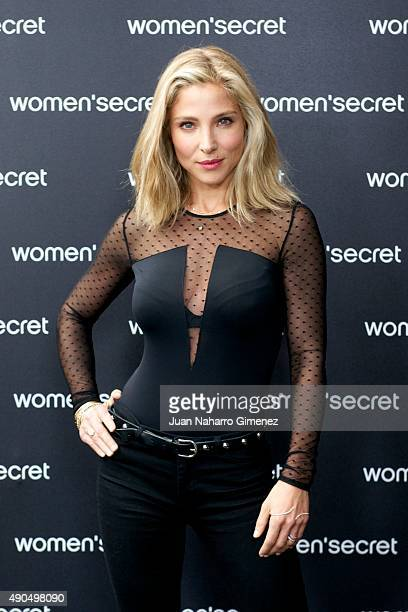 Elsa Pataky is presented as the first singer of the videoclip of the brand Women'Secret Q17 on September 29 2015 in Madrid Spain