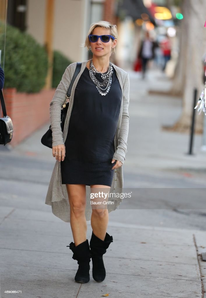 Elsa Pataky is seen on February 12, 2014 in Los Angeles, California.
