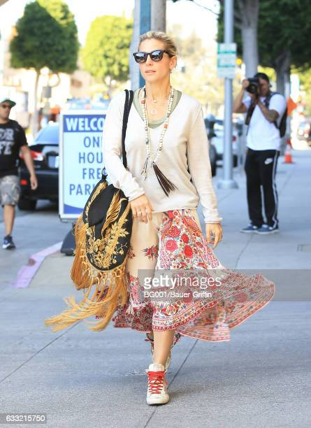 Elsa Pataky is seen on January 31 2017 in Los Angeles California
