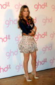 Elsa Pataky presents the new 'GHD Pink' limited edition at the Casino de Madrid on June 22 2010 in Madrid Spain