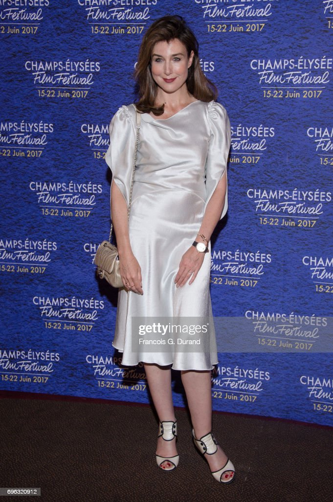 Elsa Zylberstein attends the 6th Champs Elysees Film Festival : Opening Ceremony in Paris on June 15, 2017 in Paris, France.