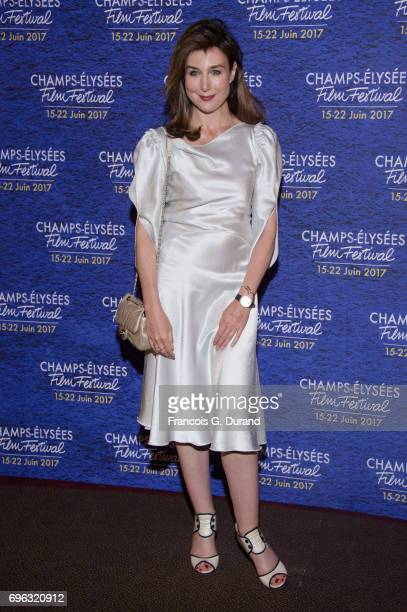 Elsa Zylberstein attends the 6th Champs Elysees Film Festival Opening Ceremony in Paris on June 15 2017 in Paris France