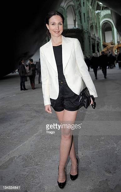 Elsa Zylberstein attends the 'Fete Du Cinema' Launch party at Grand Palais on June 22 2011 in Paris France