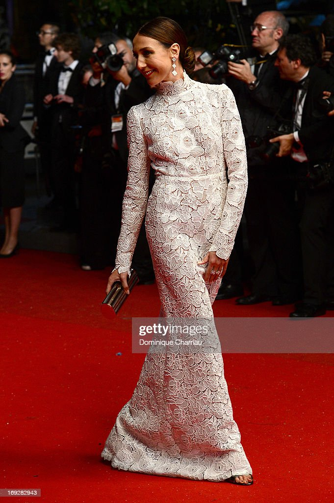 Elsa Zylberstein attends the Premiere of 'Only God Forgives' at The 66th Annual Cannes Film Festival on May 22, 2013 in Cannes, France.