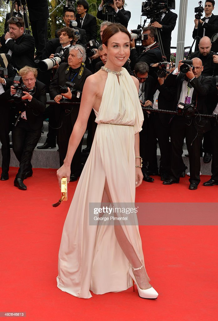 Elsa Zylberstein attends 'The Search' Premiere at the 67th Annual Cannes Film Festival on May 21, 2014 in Cannes, France.