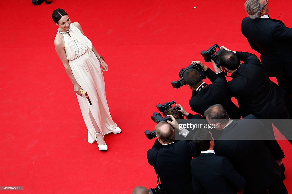 Elsa Zylberstein attends 'The Search' premiere during the 67th Annual Cannes Film Festival on May 21, 2014 in Cannes, France.