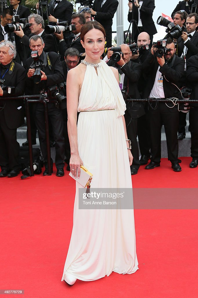 Elsa Zylberstein attends the 'The Search' Premiere at the 67th Annual Cannes Film Festival on May 21, 2014 in Cannes, France.