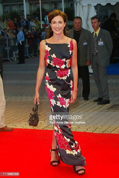 Elsa Zylberstein during Deauville 2002 'City of Ghosts' Premiere at CID Deauville in Deauville France