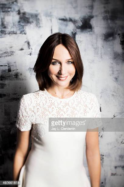 Elsa Zylberstein of 'Un Plus Une' is photographed for Los Angeles Times on September 25 2015 in Toronto Ontario PUBLISHED IMAGE CREDIT MUST READ Jay...