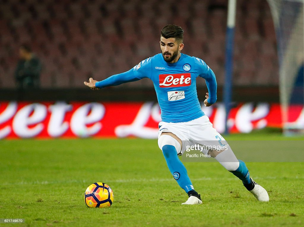 Elseid Hysaj during the Italian serie a soccer match,between... : News Photo