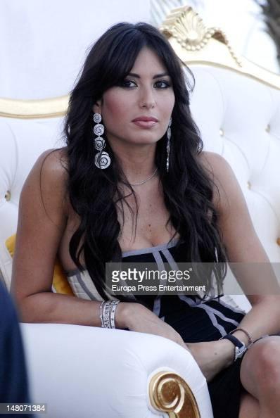 Elsisabetta Gregoracci attends the new Billionaire Club Opening on July 6 2012 in Marbella Spain