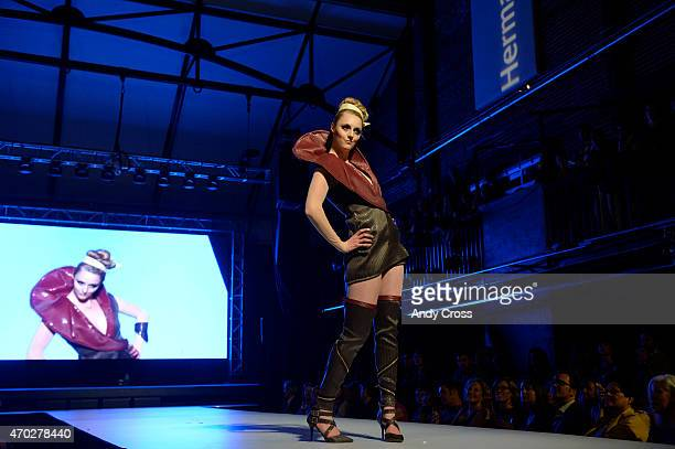 Elsy Studios/Knoll Textiles entry for the 2015 PretaPorter fashion show Future Undefined hosted by the International Interior Design Association...