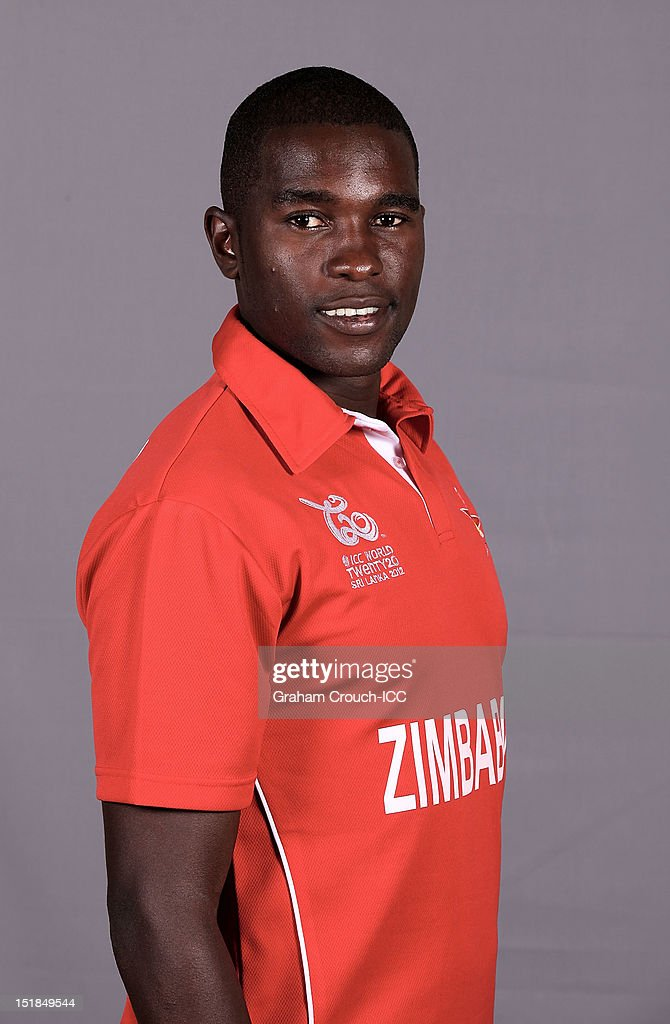 Zimbabwe Portrait Session - ICC World Twenty20 2012