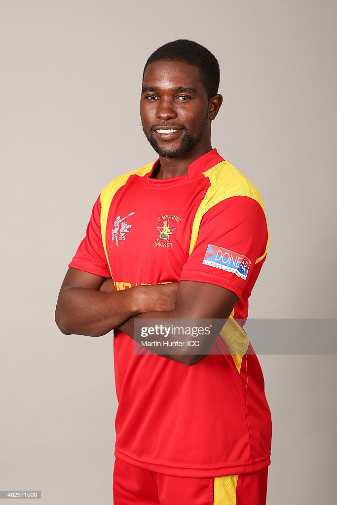 Zimbabwe 2015 ICC Cricket World Cup Headshots Session